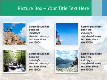 Mountain panorama PowerPoint Template - Slide 14
