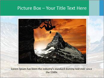 Mountain panorama PowerPoint Template - Slide 15