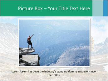Mountain panorama PowerPoint Template - Slide 16
