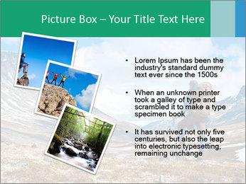 Mountain panorama PowerPoint Template - Slide 17