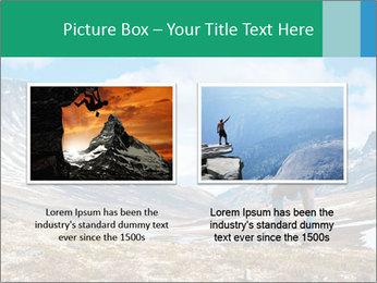 Mountain panorama PowerPoint Template - Slide 18