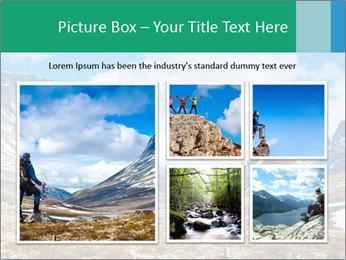 Mountain panorama PowerPoint Template - Slide 19