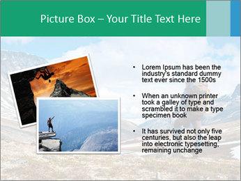 Mountain panorama PowerPoint Template - Slide 20