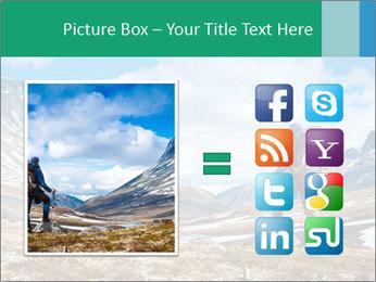 Mountain panorama PowerPoint Template - Slide 21