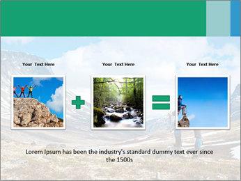 Mountain panorama PowerPoint Template - Slide 22