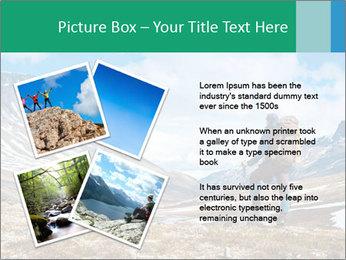 Mountain panorama PowerPoint Template - Slide 23