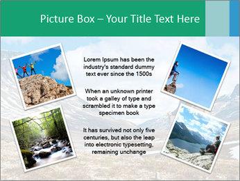Mountain panorama PowerPoint Template - Slide 24