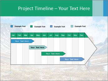 Mountain panorama PowerPoint Template - Slide 25