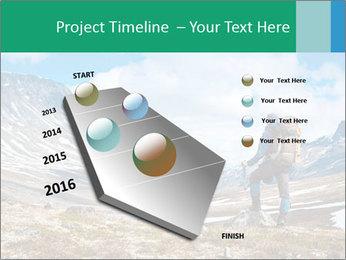 Mountain panorama PowerPoint Template - Slide 26