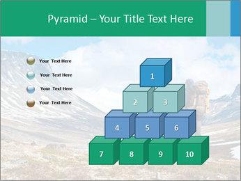 Mountain panorama PowerPoint Template - Slide 31