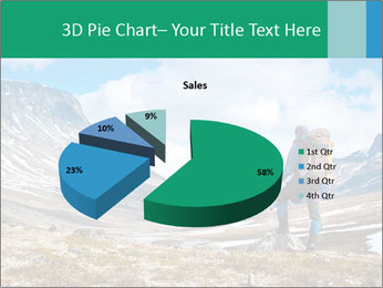 Mountain panorama PowerPoint Template - Slide 35