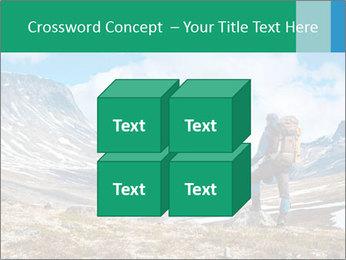 Mountain panorama PowerPoint Template - Slide 39