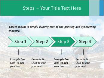 Mountain panorama PowerPoint Template - Slide 4