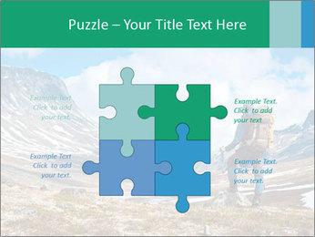 Mountain panorama PowerPoint Template - Slide 43