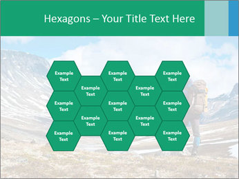 Mountain panorama PowerPoint Template - Slide 44