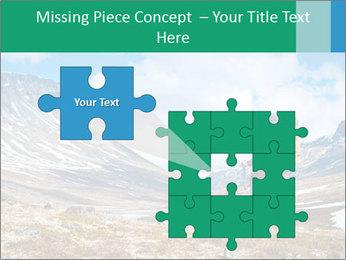 Mountain panorama PowerPoint Template - Slide 45