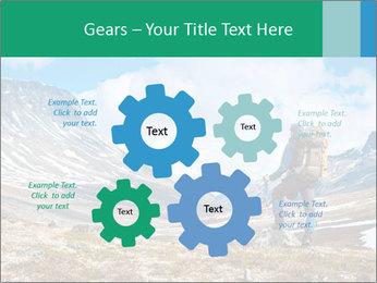 Mountain panorama PowerPoint Template - Slide 47
