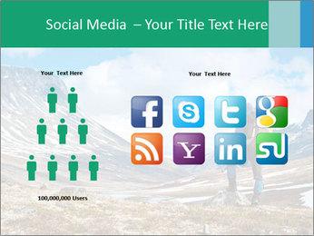 Mountain panorama PowerPoint Template - Slide 5