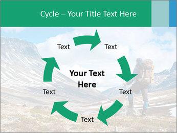 Mountain panorama PowerPoint Template - Slide 62