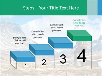 Mountain panorama PowerPoint Template - Slide 64