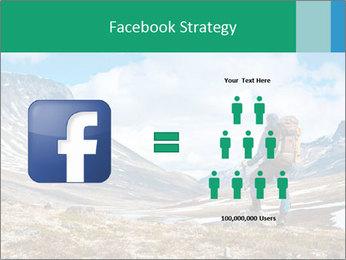 Mountain panorama PowerPoint Template - Slide 7
