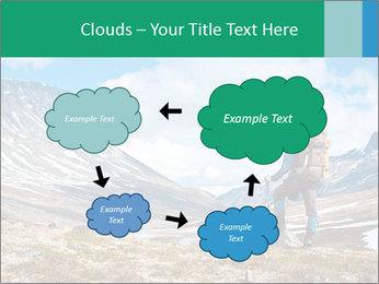 Mountain panorama PowerPoint Template - Slide 72