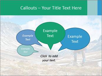 Mountain panorama PowerPoint Template - Slide 73