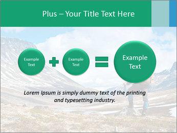 Mountain panorama PowerPoint Template - Slide 75