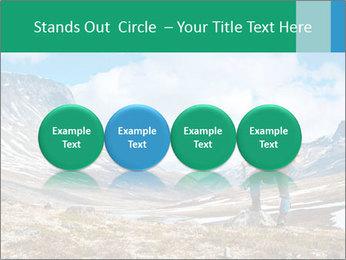 Mountain panorama PowerPoint Template - Slide 76