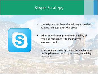 Mountain panorama PowerPoint Template - Slide 8