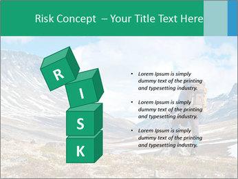 Mountain panorama PowerPoint Template - Slide 81
