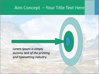 Mountain panorama PowerPoint Template - Slide 83