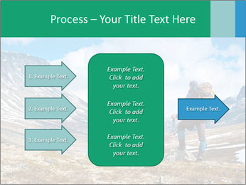 Mountain panorama PowerPoint Template - Slide 85