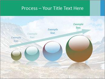 Mountain panorama PowerPoint Template - Slide 87
