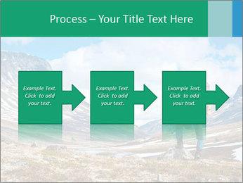 Mountain panorama PowerPoint Template - Slide 88