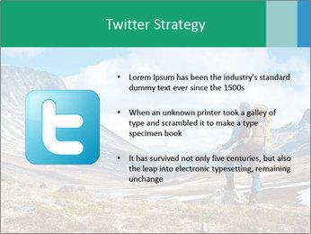 Mountain panorama PowerPoint Template - Slide 9
