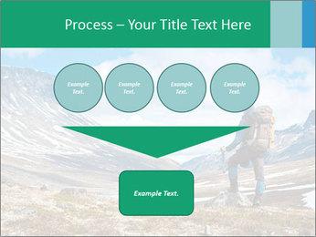 Mountain panorama PowerPoint Template - Slide 93