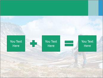 Mountain panorama PowerPoint Template - Slide 95