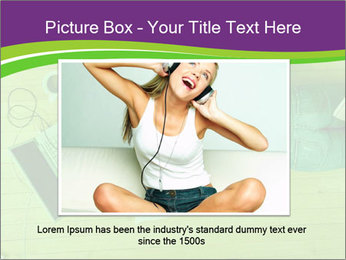 A girl laying on the Floor PowerPoint Templates - Slide 15