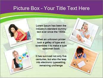 A girl laying on the Floor PowerPoint Templates - Slide 24