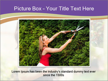 Florist checking flowers PowerPoint Template - Slide 16