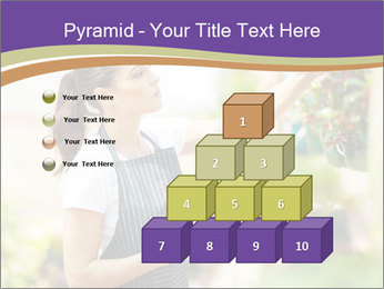 Florist checking flowers PowerPoint Template - Slide 31