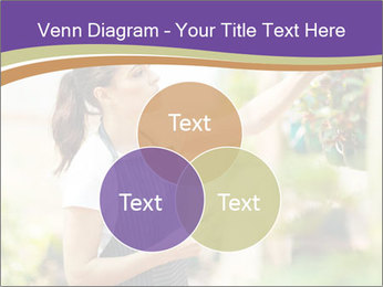 Florist checking flowers PowerPoint Template - Slide 33