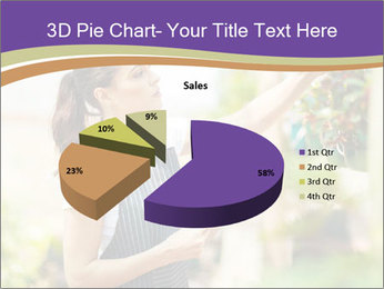 Florist checking flowers PowerPoint Template - Slide 35