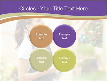 Florist checking flowers PowerPoint Template - Slide 38