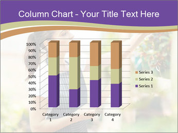 Florist checking flowers PowerPoint Template - Slide 50