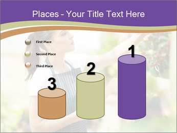 Florist checking flowers PowerPoint Templates - Slide 65