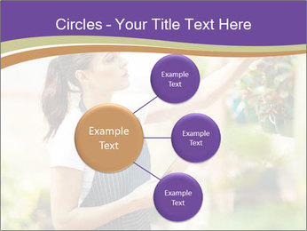 Florist checking flowers PowerPoint Template - Slide 79