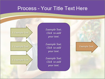 Florist checking flowers PowerPoint Template - Slide 85
