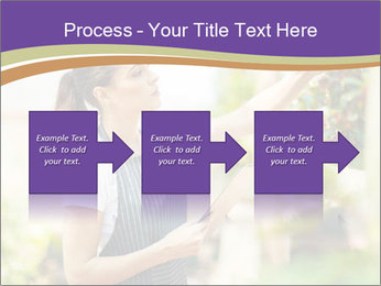 Florist checking flowers PowerPoint Template - Slide 88